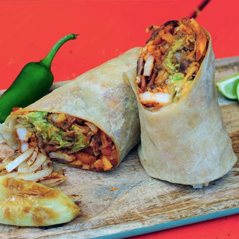 Cali Diablo Burrito
